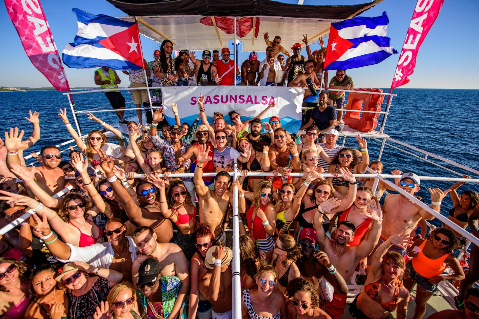 Cuban Party Boat