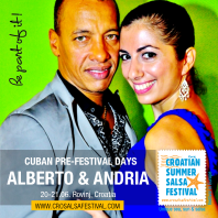 Alberto Valdes on Croatian Summer Salsa Festival