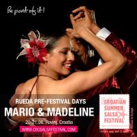 Mario & Madeline on Croatian Summer Salsa Festival